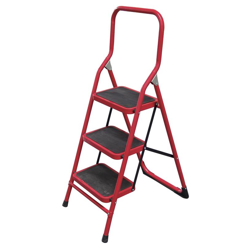 全铁宽踏板家用梯