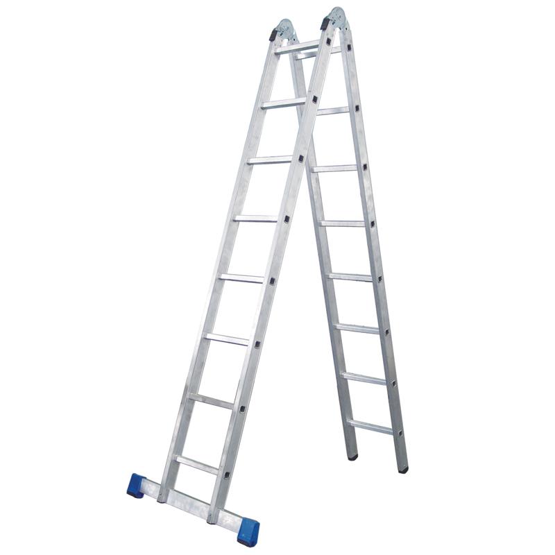 铝合金可折叠两用工作梯