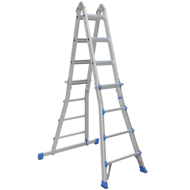欧式铝合金折叠伸缩梯