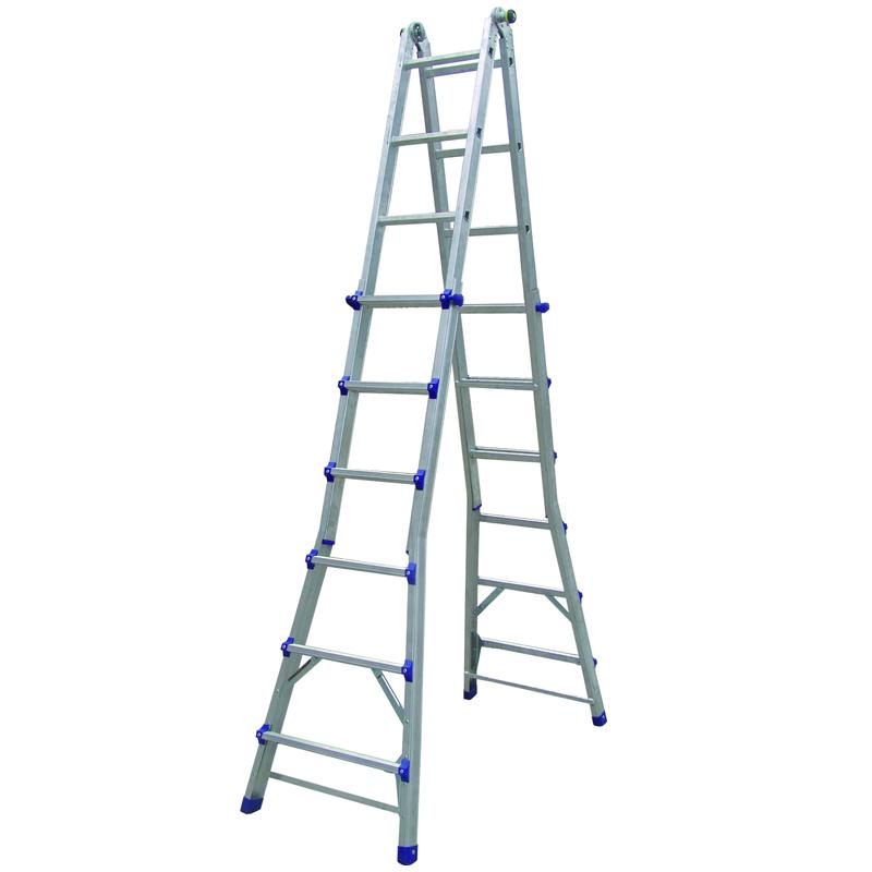 美式铝合金折叠延伸梯