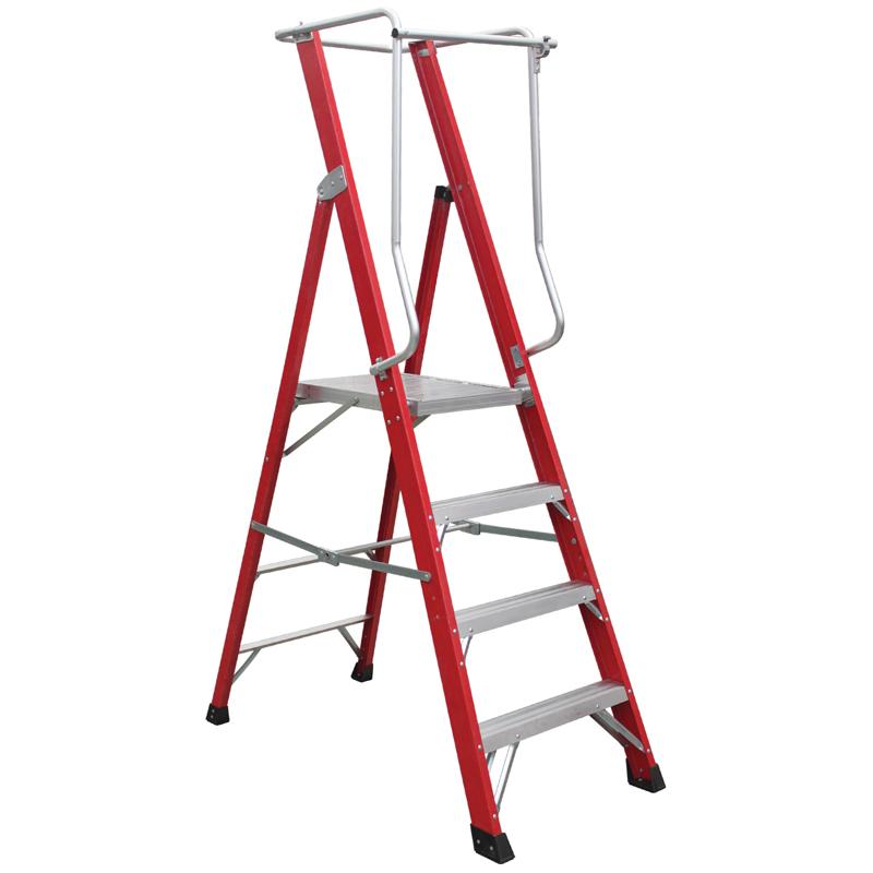 玻璃钢大平台工作梯